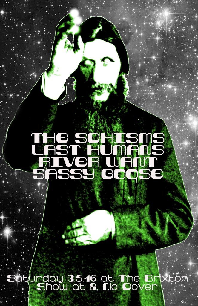 Schisms Brixton Poster copy